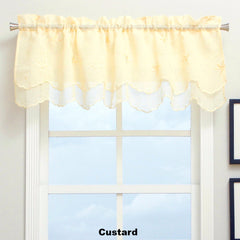 Zurich Semi Sheer Panel and Valance