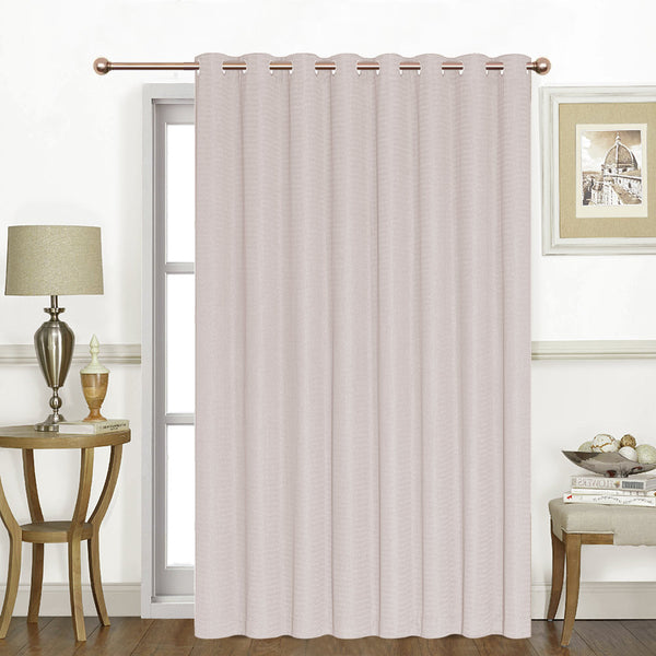 Asbury Long Grommet Patio Curtain Panel
