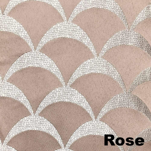 Sun Zero Atticus Jacquard Lined Rod Pocket Panel by Lichtenberg Rose