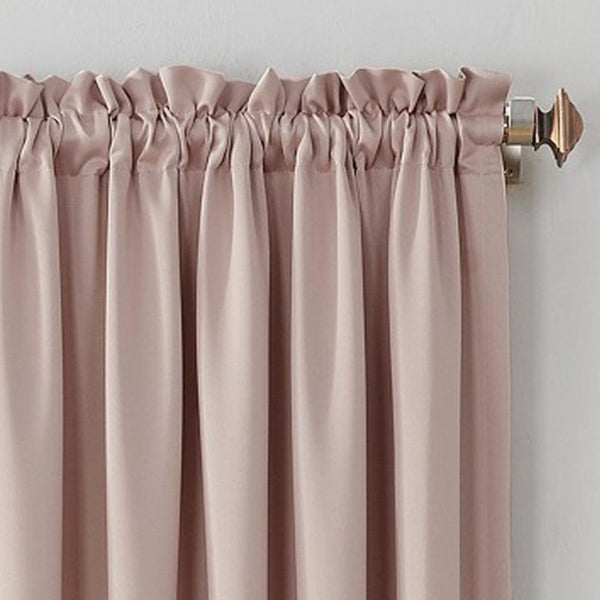 Close up Blush Sun Zero Room Darkening Panel fabric