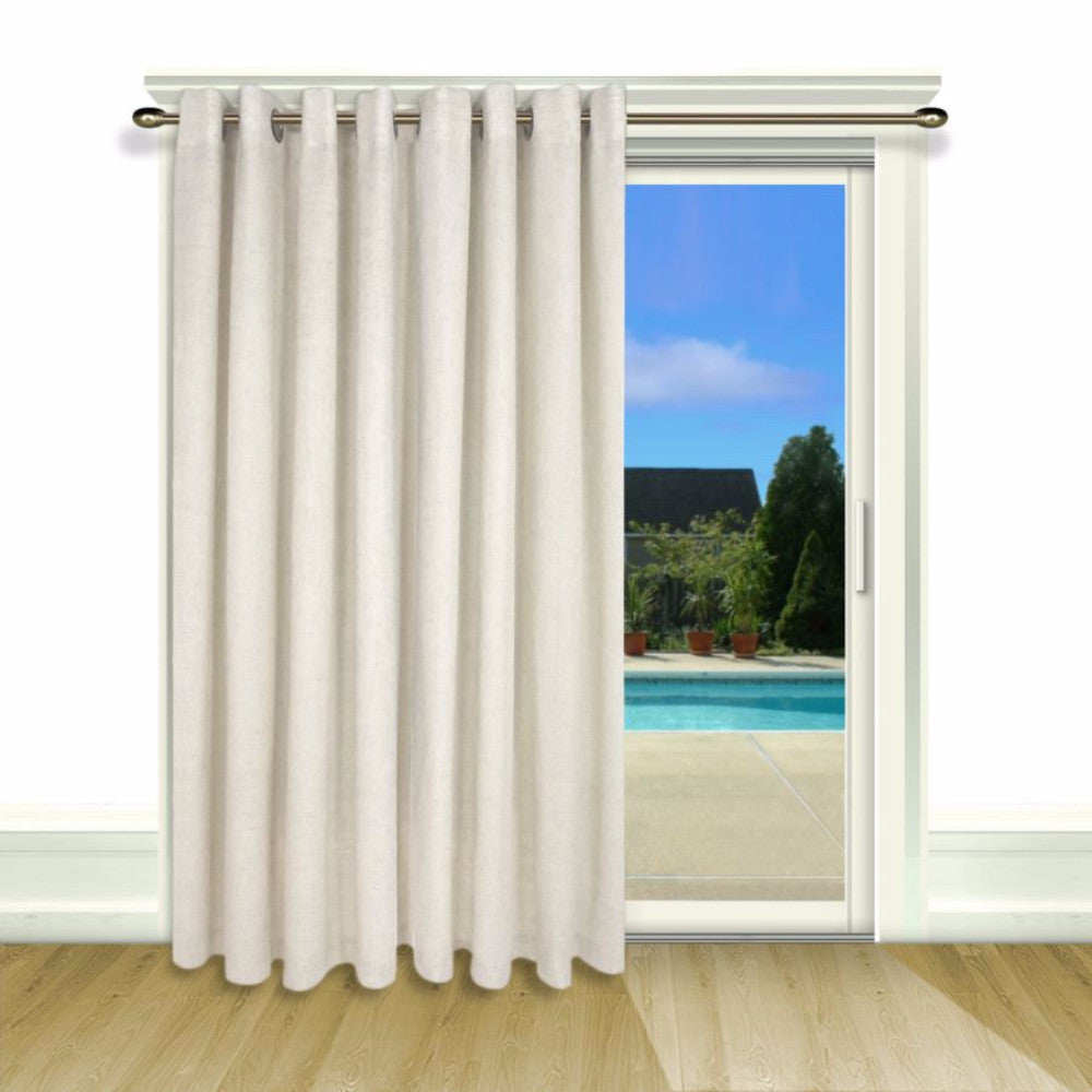 New-Castle-Lined-Grommet-Top-Patio-Panel-White-Zoom
