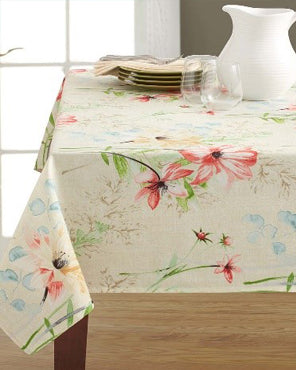 Tabitha Indoor/Outdoor Spill Proof Tablecloth
