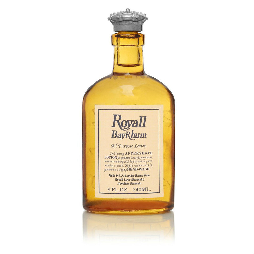 Royall Bayrhum cologne for men, in orange bottle