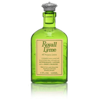 Royall Lyme men's cologne, in lime green bottle