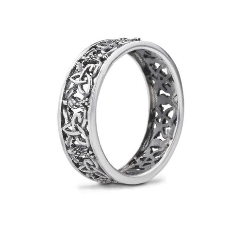 Outlander-Inspired Sterling Silver Ring — Scotland House, Ltd.