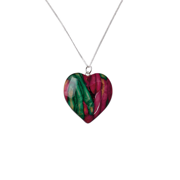 Heathergems Medium Heart Pendant
