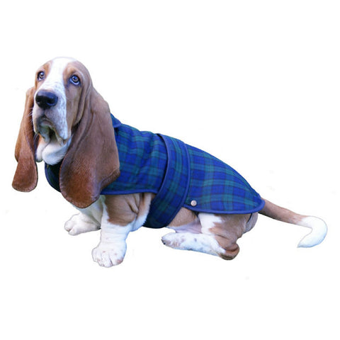Tartan Dog Coat — Black Watch