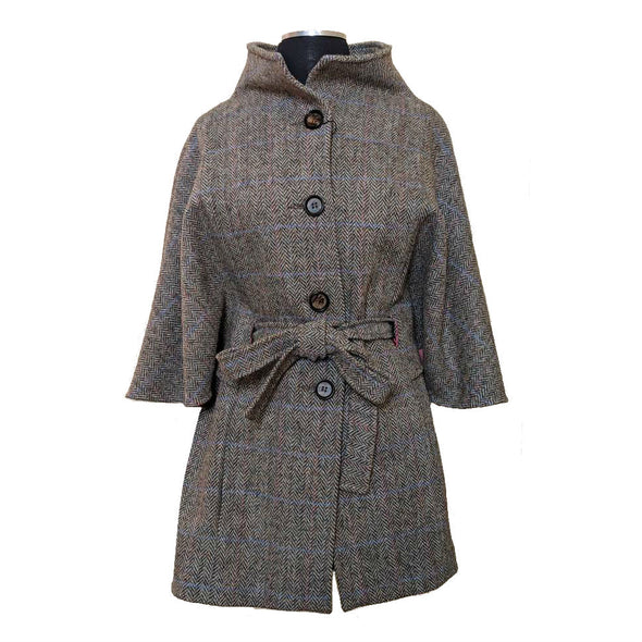Harris Tweed Belted Cape