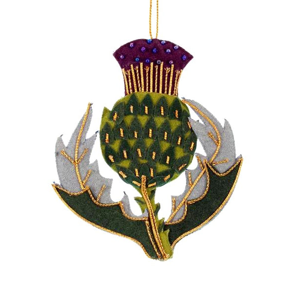 Scottish Thistle Ornament
