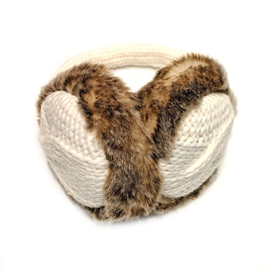 Ear Muffs with Faux Fur