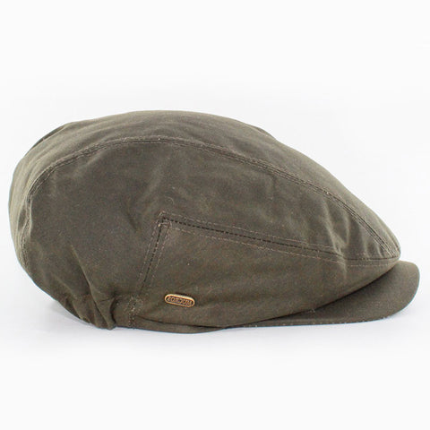 "Waxed Cotton ""Kerry"" Cap — [ 2 Colors ]"