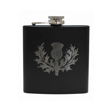Celtic Hip Flask | 6 oz | Thistle