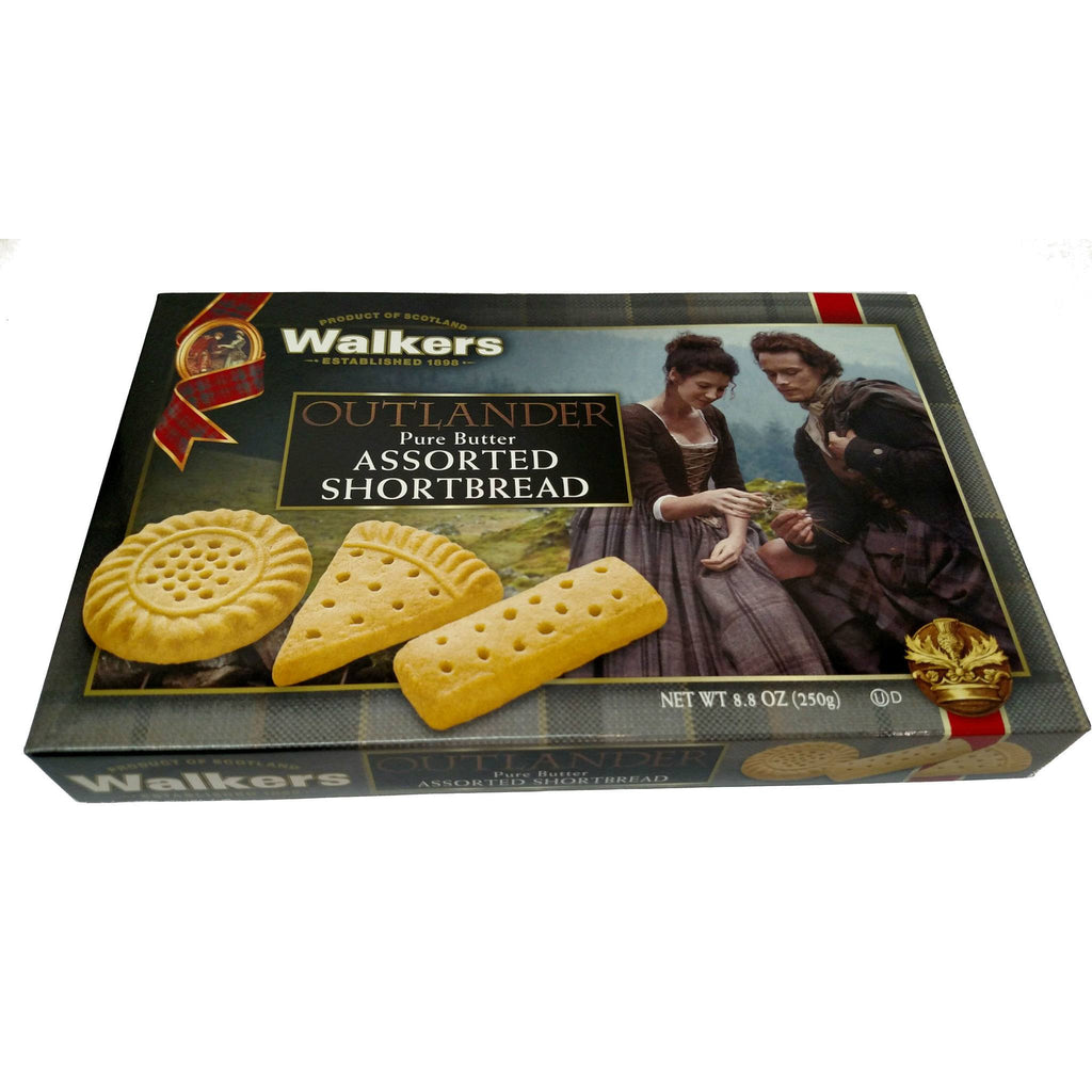 Walkers Shortbread Cookies, Outlander Themed — Scotland House, Ltd.