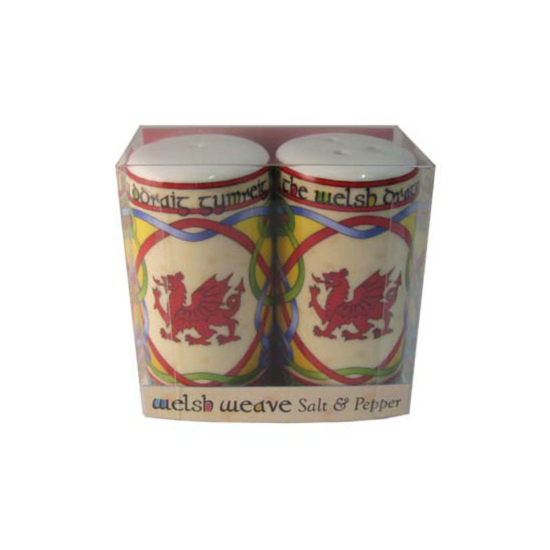 Welsh Dragon Salt & Pepper Set