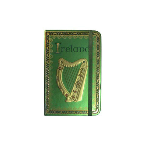 Irish Harp Notebook