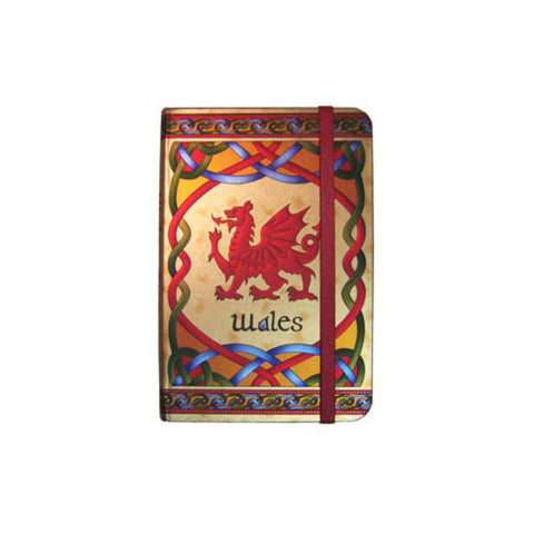 Welsh Dragon Notebook