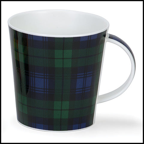 Dunoon Cairngorm Bone China Tartan Mug — Black Watch