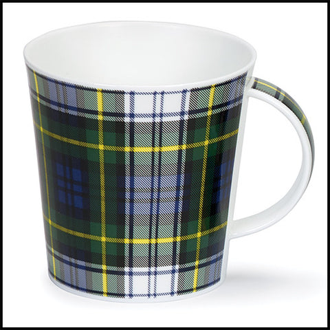 Dunoon Cairngorm Bone China Tartan Mug — Gordon Dress