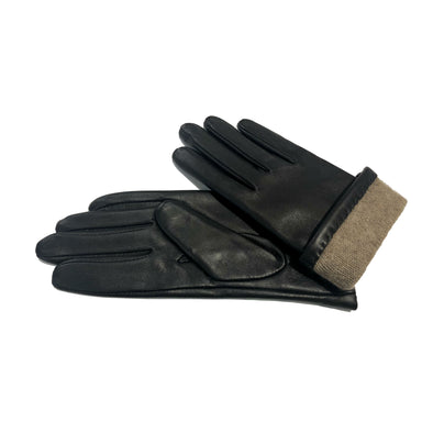 Ladies' Cashmere-Lined Leather Gloves