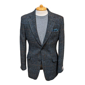 Harris Tweed Jacket | Blue Check