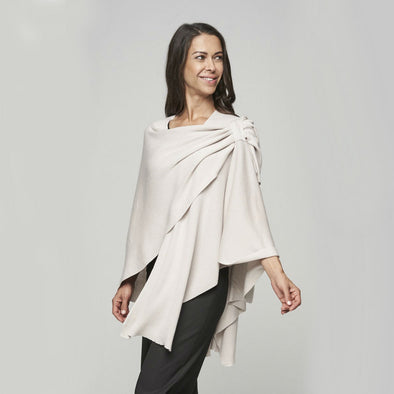 Cotton Blend Shoulder Loop Wrap