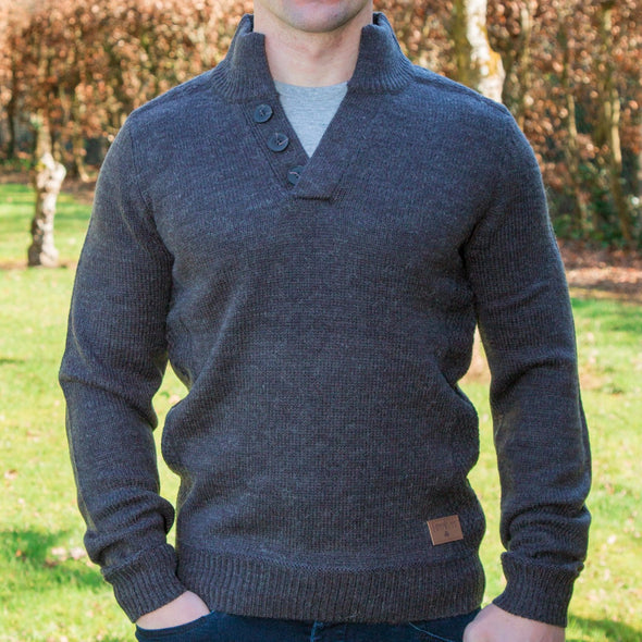 Galway Shawl Collar Sweater