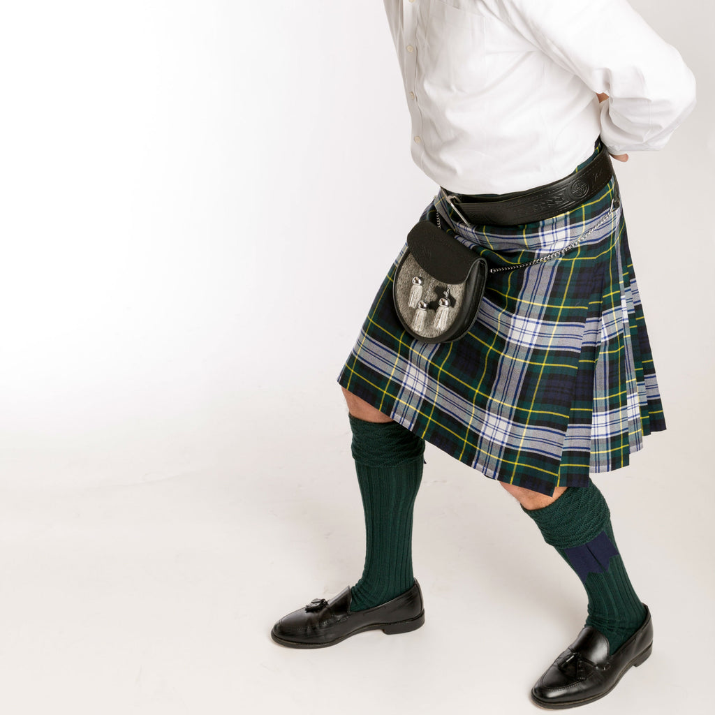 Men's Casual Kilt — [ 2 Tartans ]