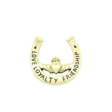 Claddagh Horseshoe Paperweight