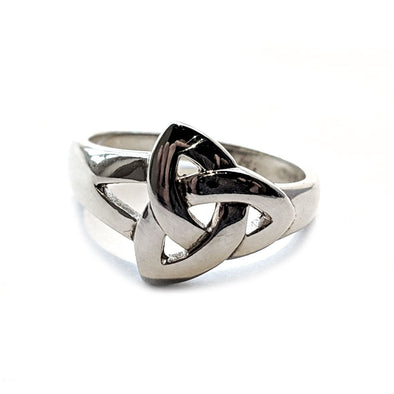 Silver Trinity Knot Ring