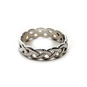 Women's Celtic Weave Ring