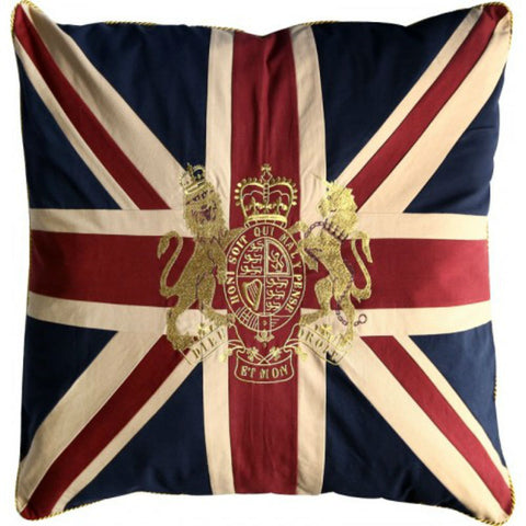 Pillow | Union Jack with Royal Crest