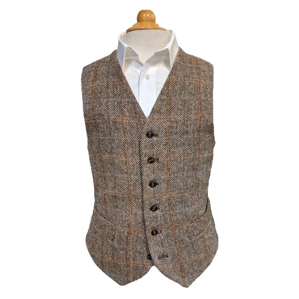 Men's Harris Tweed Vest
