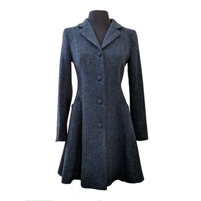 """Zoe"" Harris Tweed Overcoat"