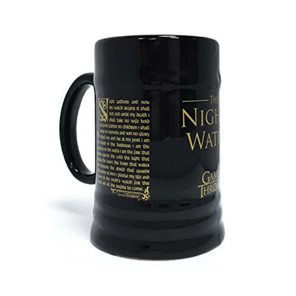 Game of Thrones Tankard | Night's Watch Oath