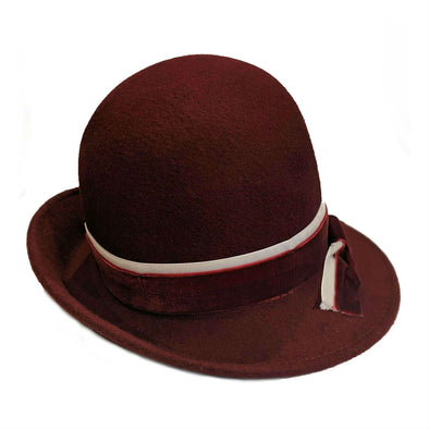 Galway Wool Cloche Hat