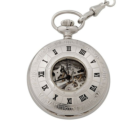 """Windsor"" Half Hunter Pocket Watch"