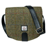 Harris Tweed & Leather Cross-Body Purse