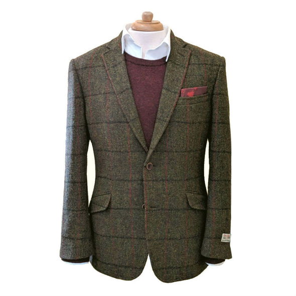 """Oransay"" Harris Tweed Jacket"