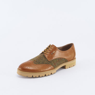 Men's Harris Tweed Brogues