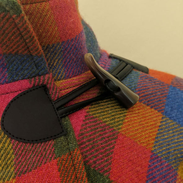 Donegal Tweed Toggle Cape