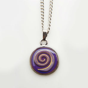 Celtic Coil Mood Necklace