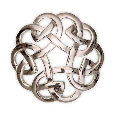 Celtic Eternal Interlace Brooch