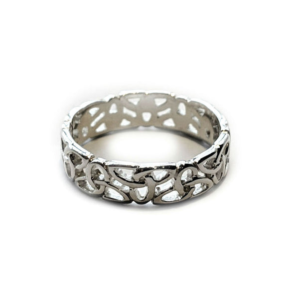 Women's Trinity Weave Ring