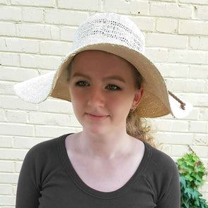 Bangkok Round Crown Summer Sun Hat