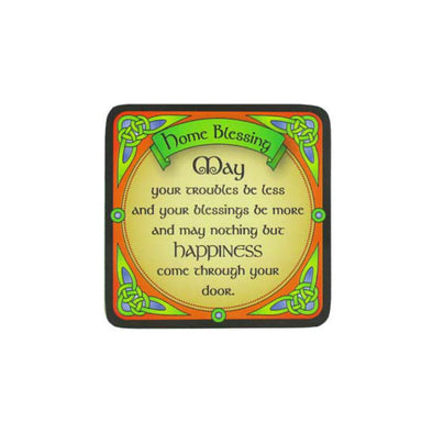 Irish Home Blessing Coaster