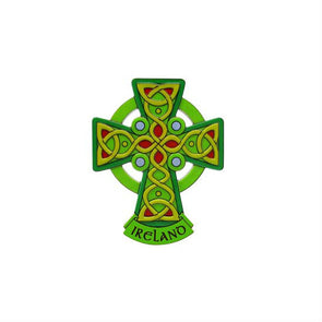 Celtic Cross Fridge Magnet