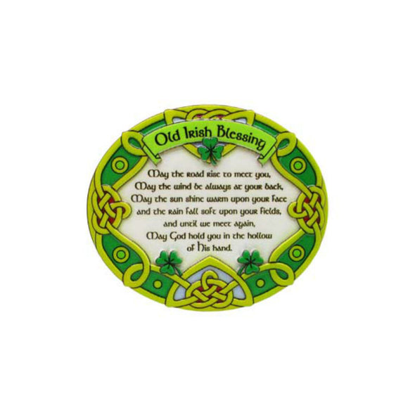 Traditional Irish Blessing Fridge Magnet