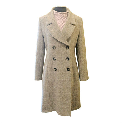 """Cheltenham"" Harris Tweed Overcoat"