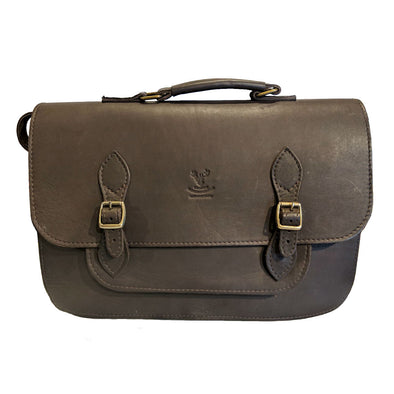 Handmade Leather Satchel, Large