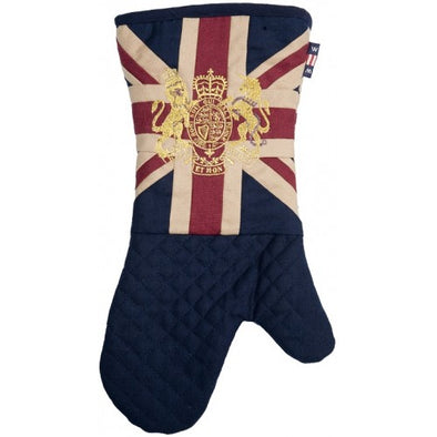 Oven Mitt | Union Jack & Royal Crest